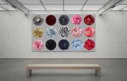 Painted Fabric Sculptures