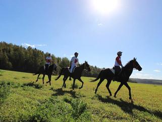 Евгения Ежова заняла 3 место на Чемпионате России по конным пробегам