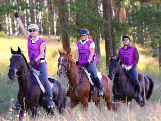 Evgenia Ezhova took the 3d place in Russian Championship on Endurance riding