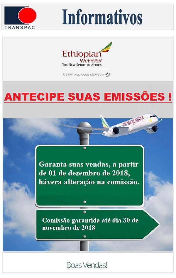 2018-11-30 Ethiopian - Antecipe suas Ven