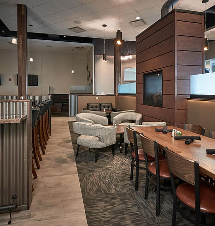 The-Office-bar-and-grill-interior-firepl