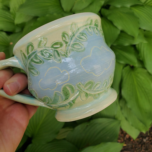 Ferns and Clouds Mug