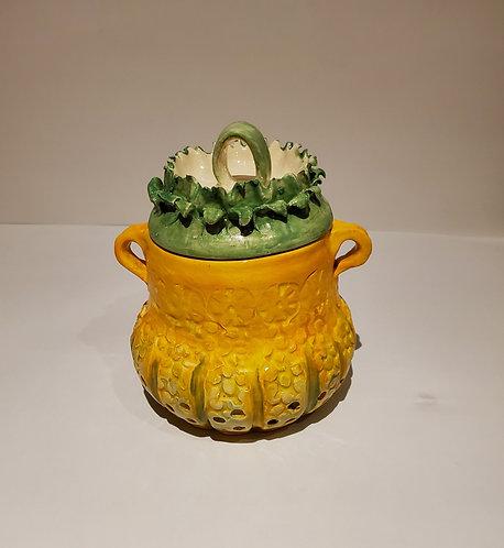 Autumn Covered Jar