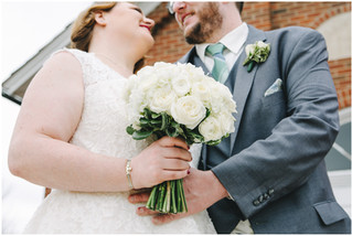 Molly + Kevin | St. Patrick's Day | Iowa City Wedding