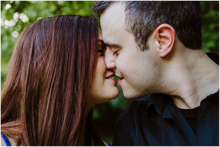 Desiree + Andrew   Engagement at Kiwanis Park