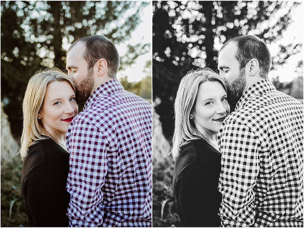 Downtown Winter Engagement