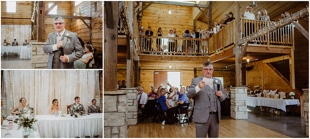 Iowa City Wedding Celebration Barn