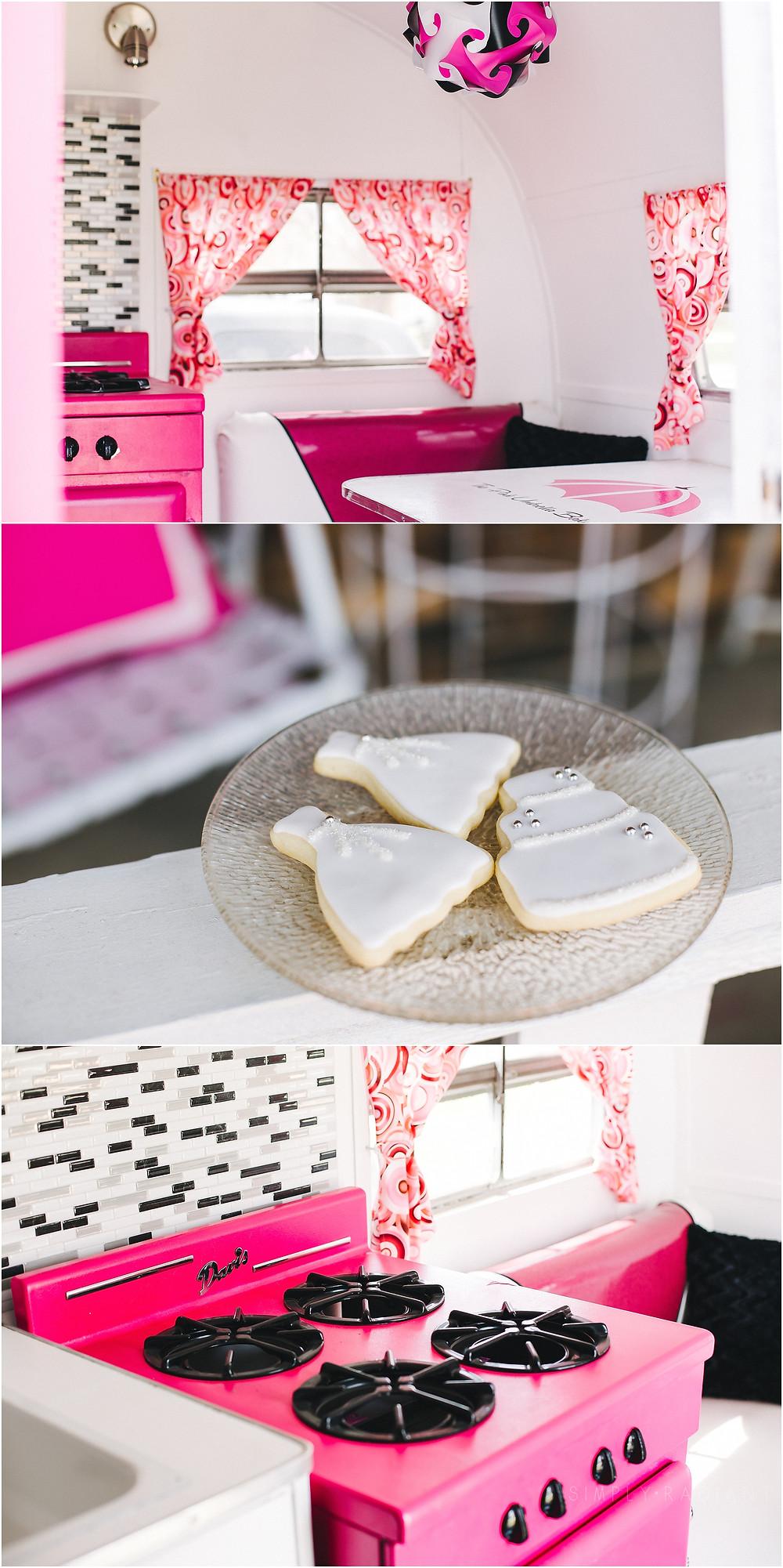 Pink Umbrella Bakery Iowa