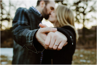 Mallory + Cody | Downtown Engagements