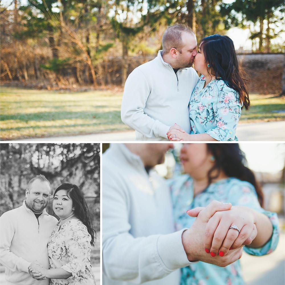 Iowa City Engagement Photos