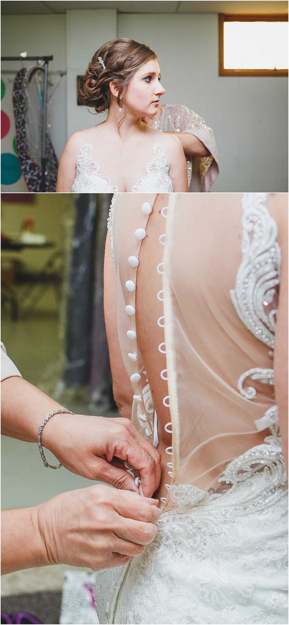 Wedding Dress Mother Daughter