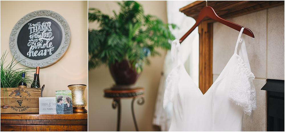 Dubuque Iowa Wedding dress and details