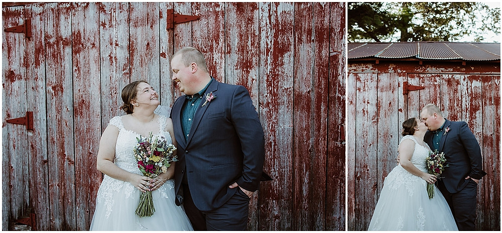 Iowa Wedding Photography the bean farm