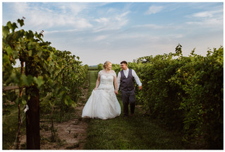 Hayley + Bryce | Wooden Wheel Vineyard