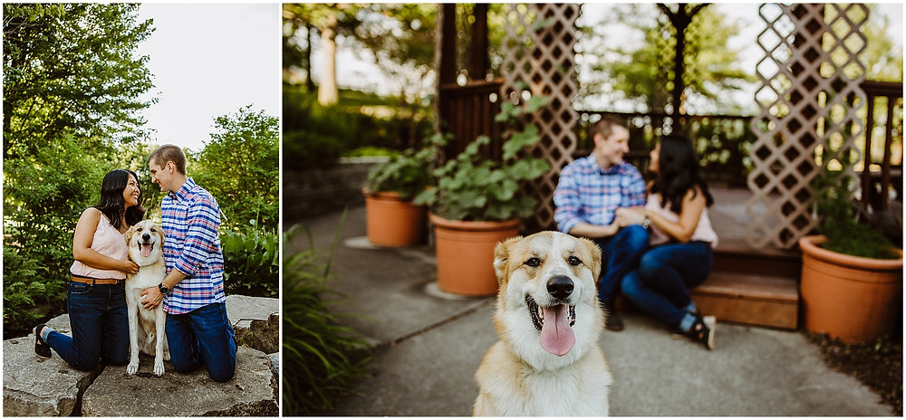 Iowa Engagement Photographer Newton Arboretum