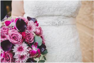 Tricia + Bill | Intimate Winter Atrium Wedding