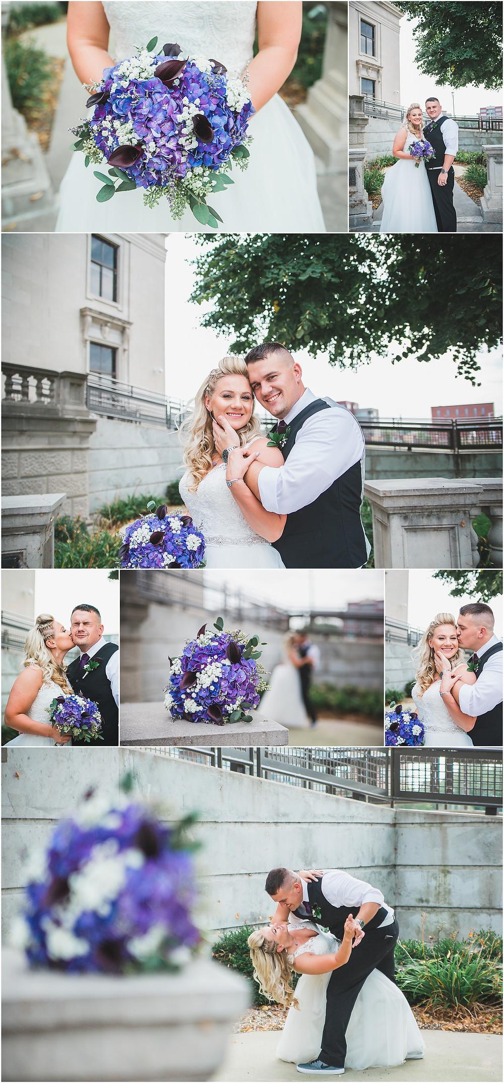 Bridal Portraits Iowa Wedding Eastbank Venue