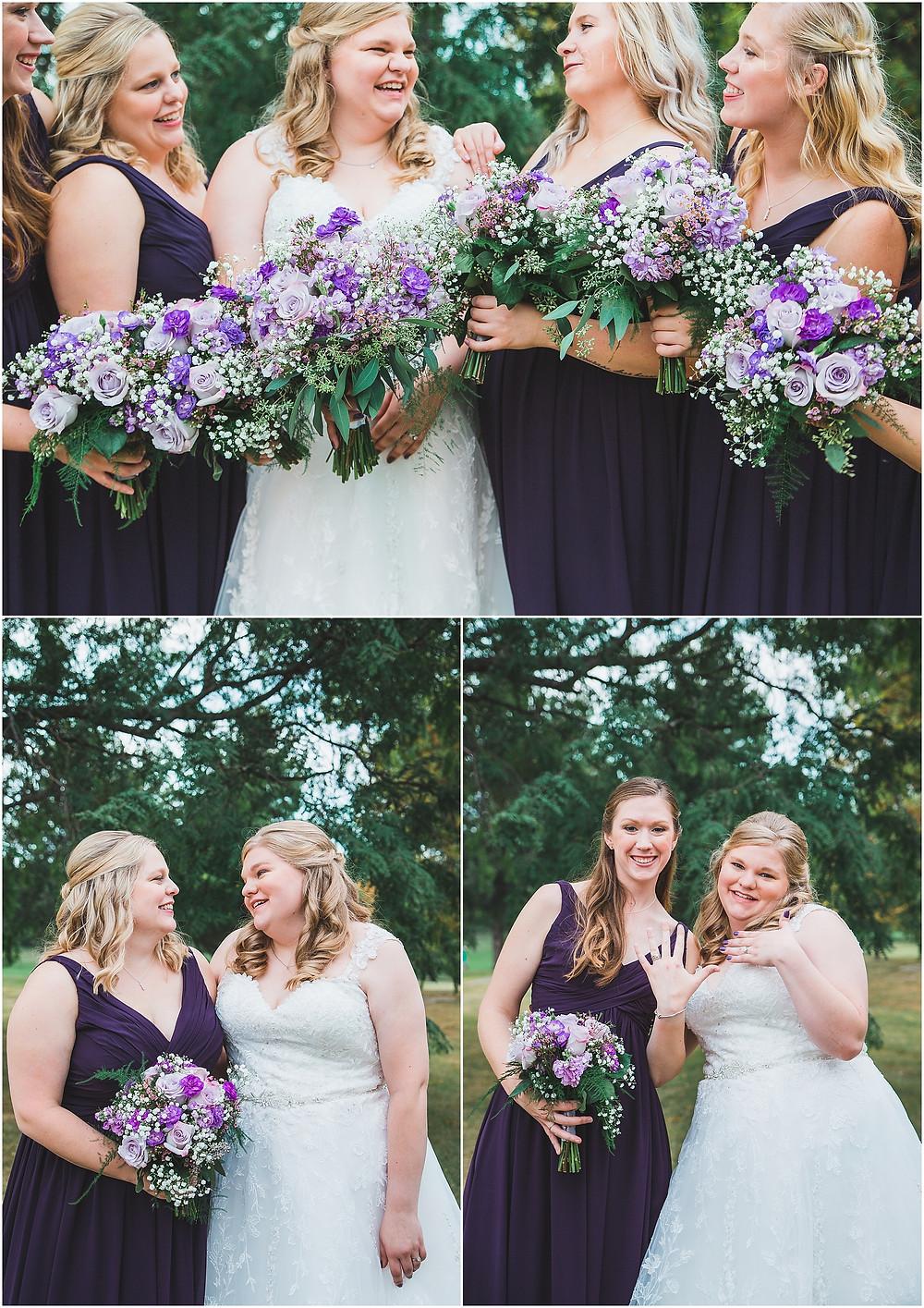 Bridal Party Lake MacBride