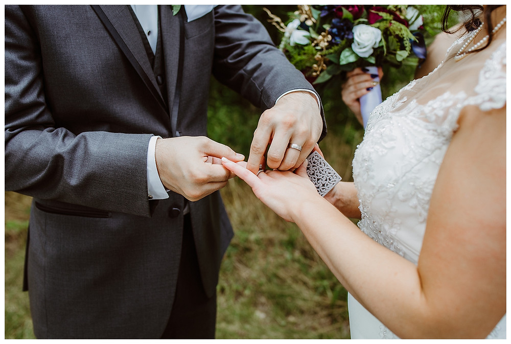 Intimate Iowa Wedding