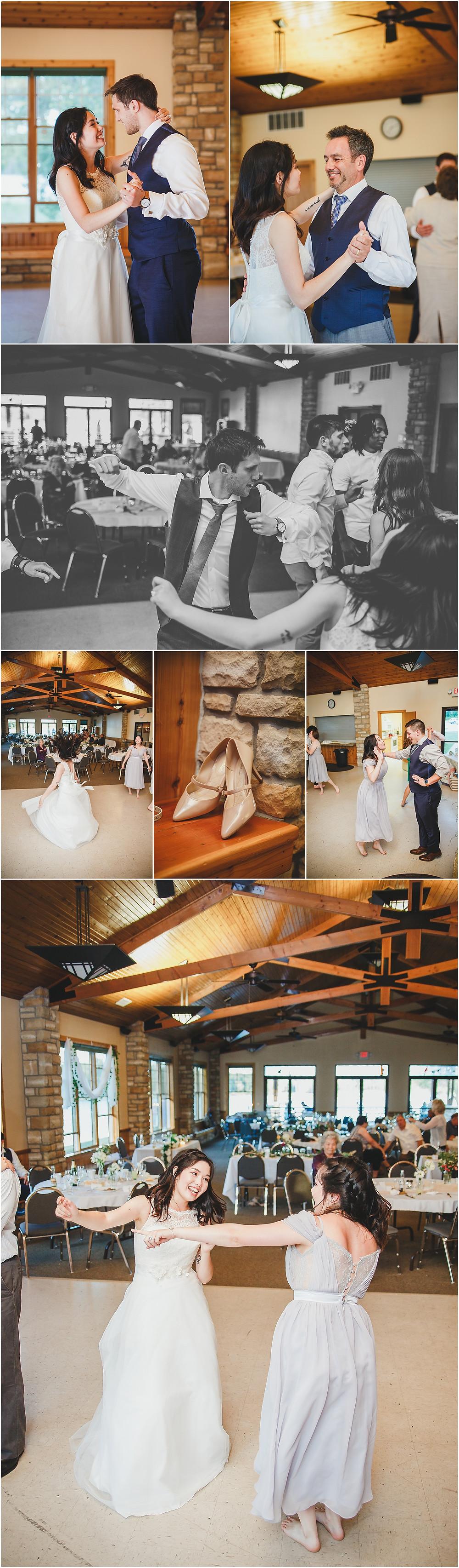 Iowa Wedding Lake Darling Reception