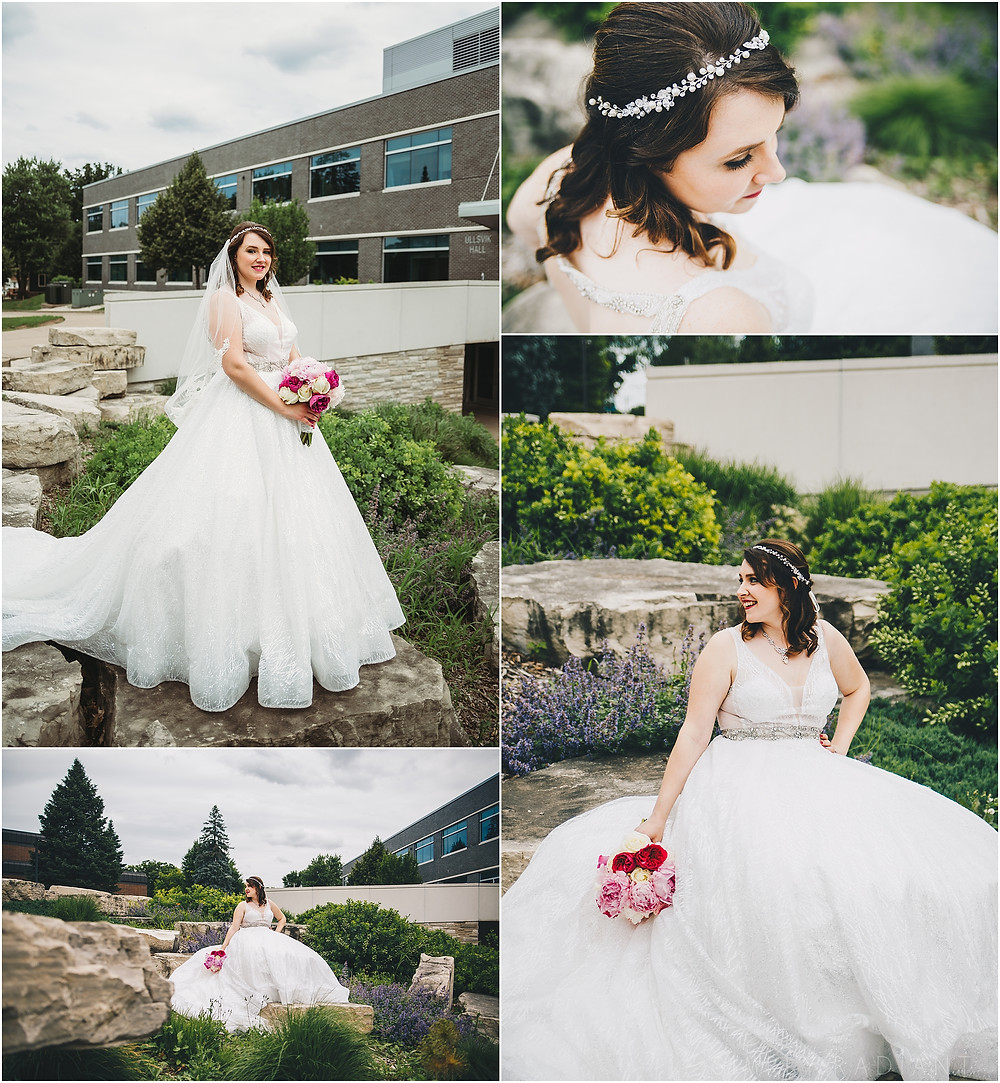 Platteville wedding bride