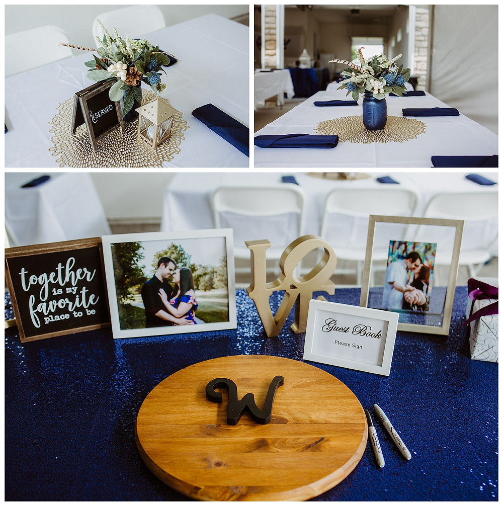 Intimate Iowa Wedding details