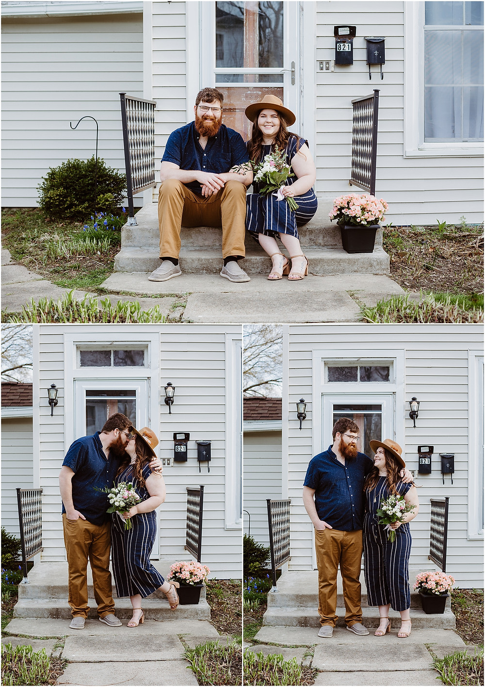 Front Porch Engagement Socially Distanced