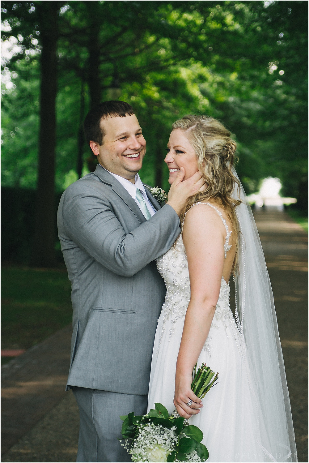 Davenport Wedding Vander Veer Botanical Park