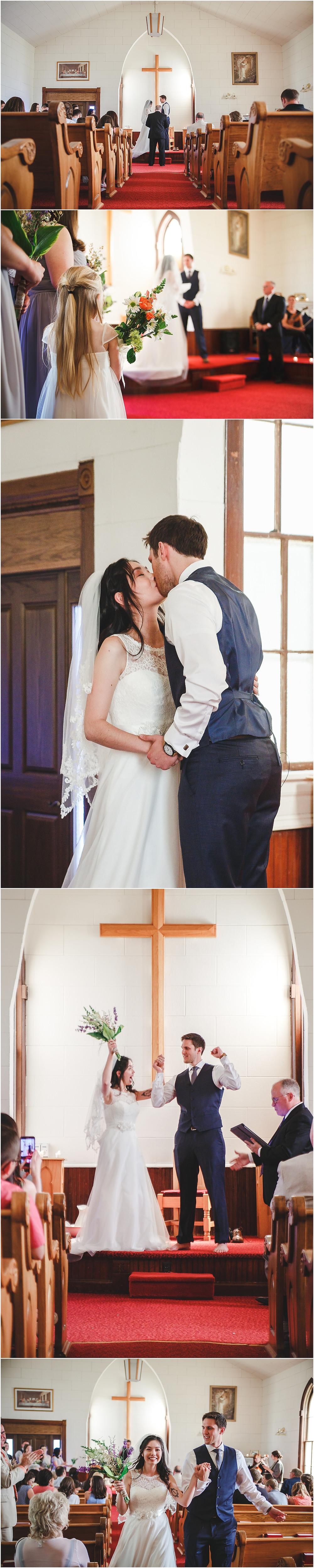 Green Mound Church Iowa Wedding