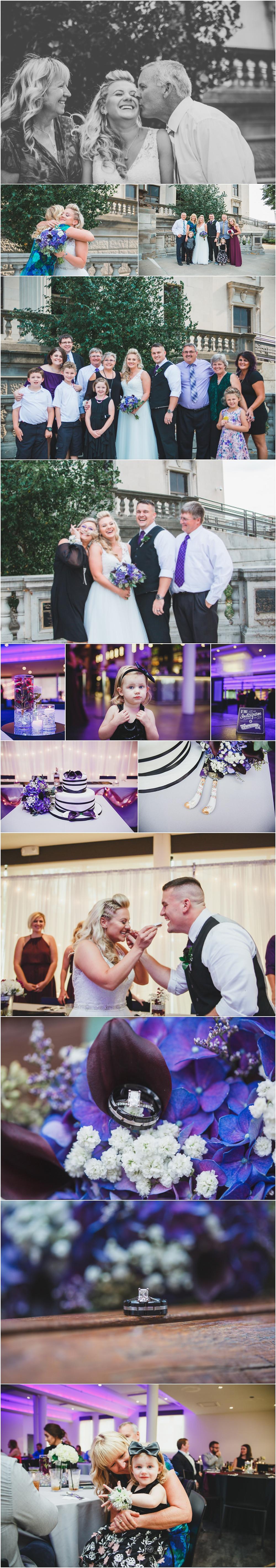 Iowa Wedding Eastbank Venue Family Portraits