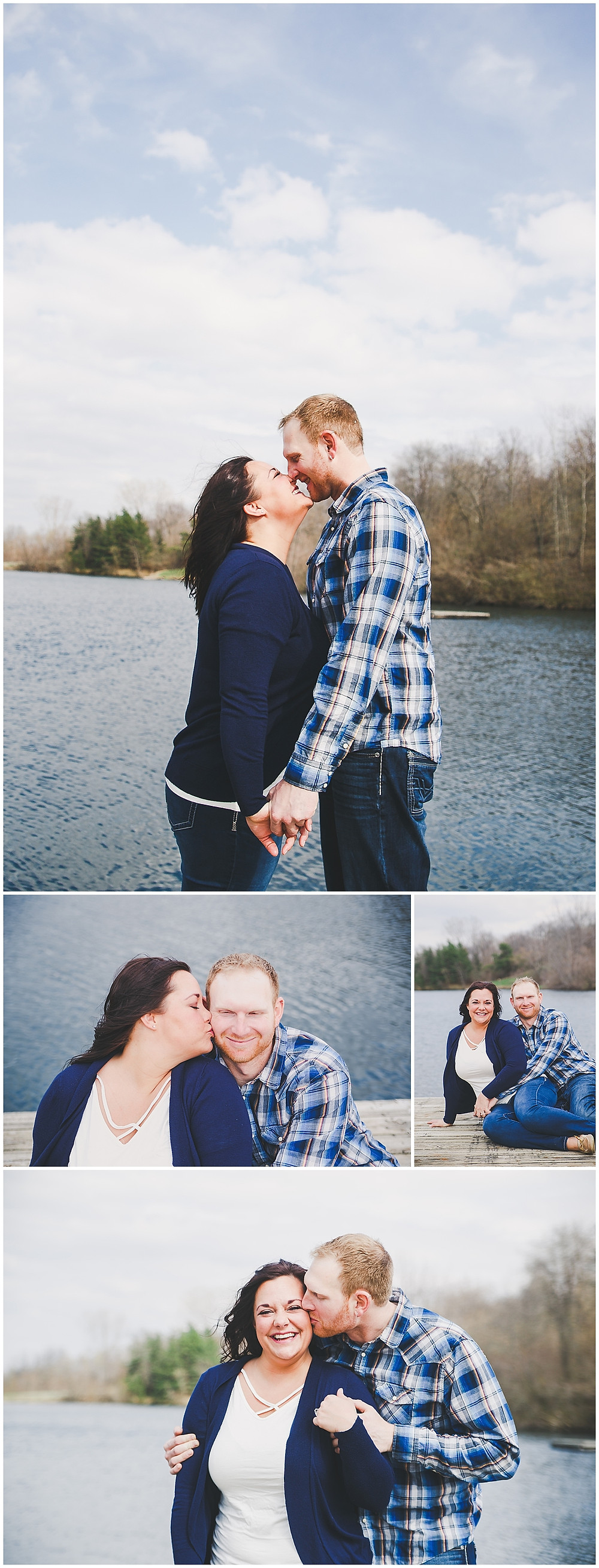 IOWA POND ENGAGEMENT PHOTOS