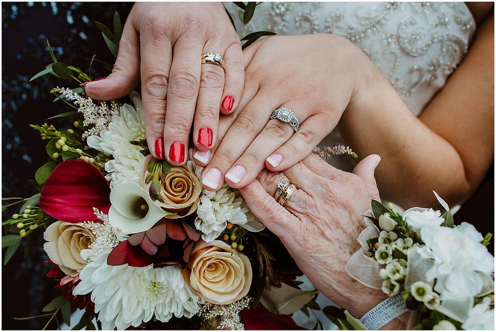 Iowa Wedding Photographer 3 generations