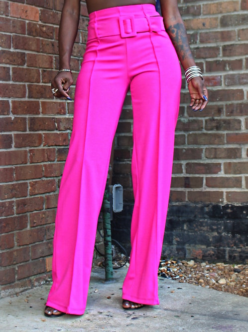 Tory Pink Flare Pants