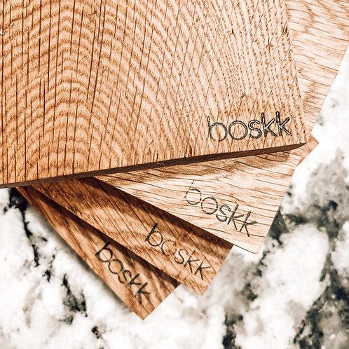 Coasters/White Oak