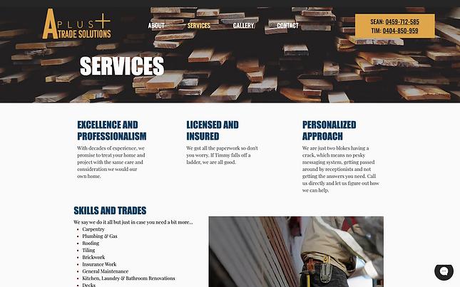 A Plus Trade Solutions Website _ LilyGra