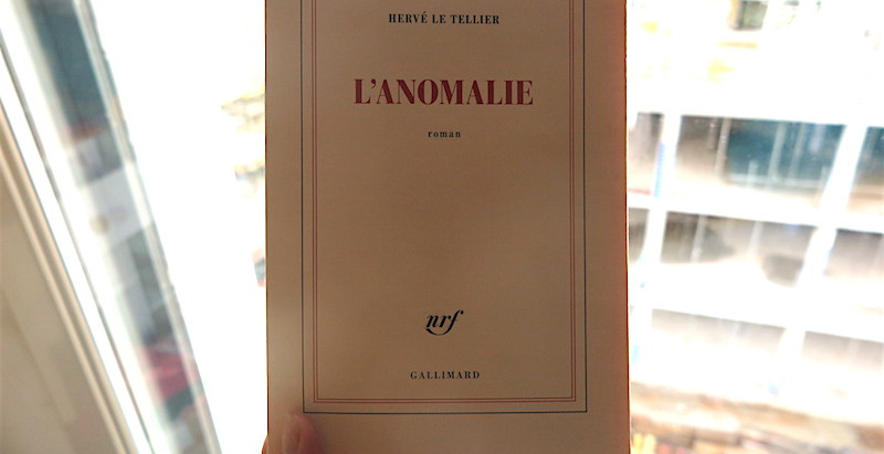 1938 — vendredi 8 janvier 2021 — L'anomalie, prix Goncourt