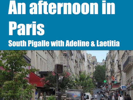 New in my shop : An afternoon in Paris with Adeline and Laetitia