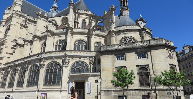 Devinette depuis le cœur de Paris : l'église Saint-Eustache