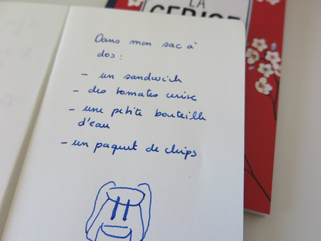 How to improve my French vocabulary : using everyday life lists