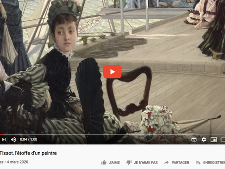 How to improve my French : Exposition James Tissot