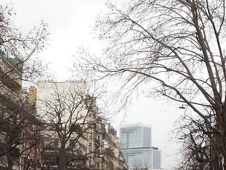 1968 — mercredi 24 mars 2021 — Balade dans le 17e : Tribunal de Paris et Arc de triomphe