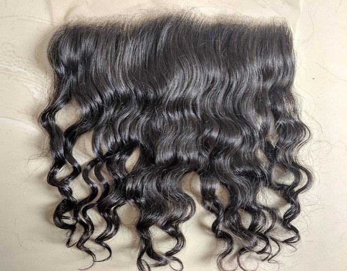 INDIAN WAVY LACE FRONTAL UNPROCESSED