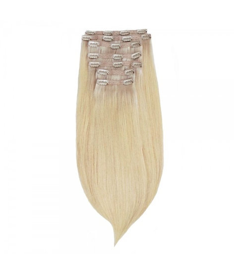 SILKY BLONDE CLIP ONS