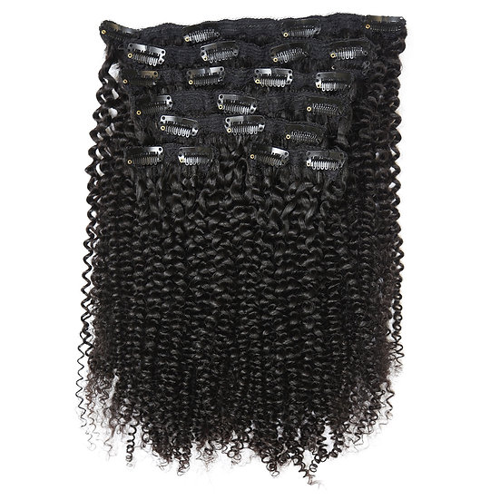 KINKY CURLY CLIP ONS