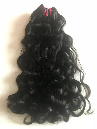 Brazilian Loose Curl Double Drawn