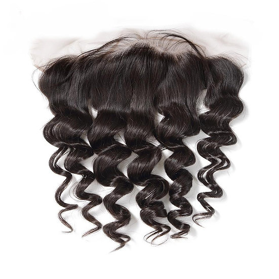 LOOSE WAVE 13X4 SWISS LACE FRONTAL