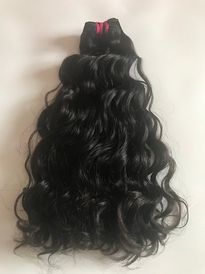 Brazilian waves and curls Double Drawn