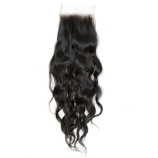 INDIAN WAVY LACE CLOSURE UNPROCESSED