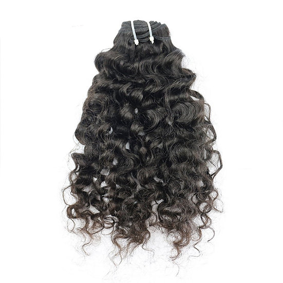 Raw Virgin Indian Natural Curly Bundle
