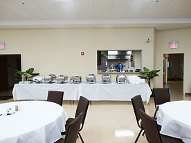 09 Christian Life Center (Buffet Set-Up)